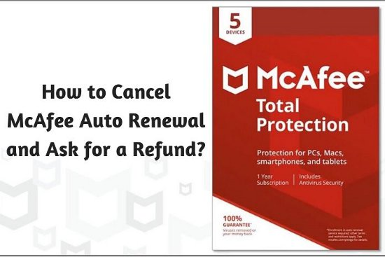 Cancel McAfee Subscription