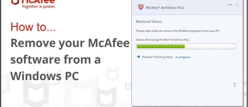How to Uninstall McAfee Products from a PC?